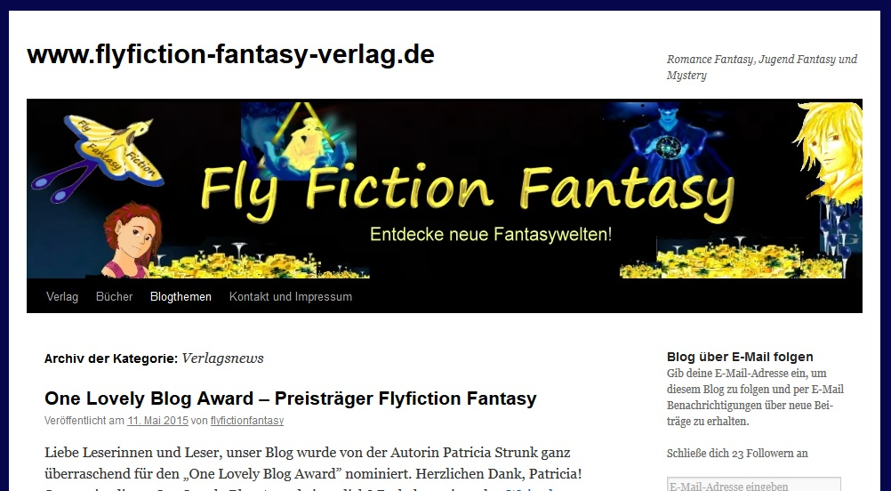 Blog von Flyfiction Fantasy